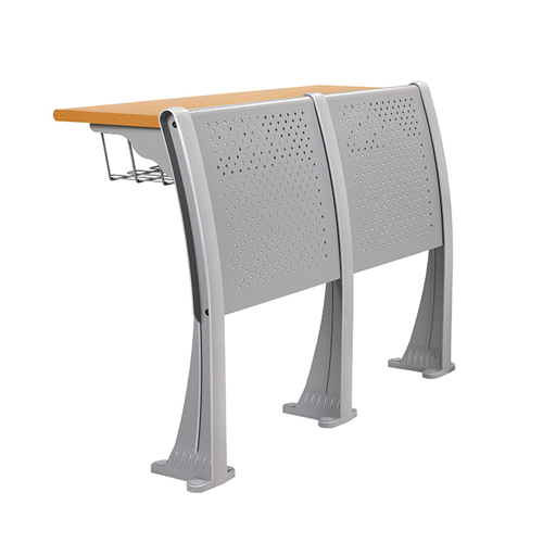 Aluminum Auditorium Chair With Storage Compartment Image 8