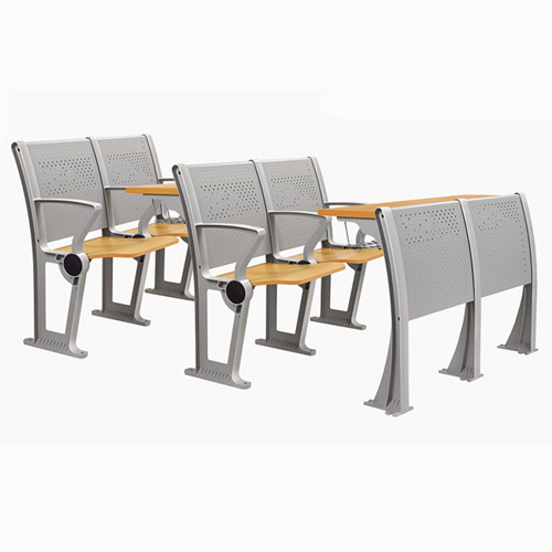 Folding Auditorium Seat With Storage Shelf Image 10