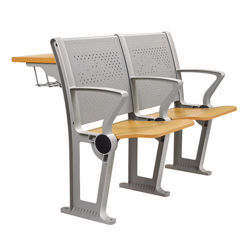 Folding Auditorium Seat With Storage Shelf