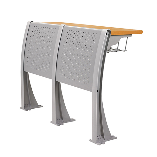 Folding Auditorium Seat With Storage Shelf Image 2