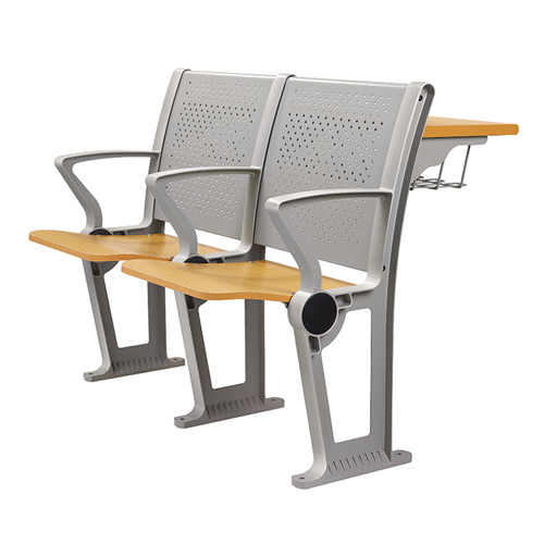 Folding Auditorium Seat With Storage Shelf Image 3