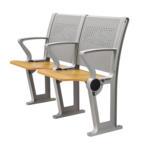 Folding Auditorium Seat With Storage Shelf Image 4