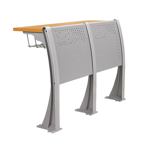 Folding Auditorium Seat With Storage Shelf Image 8