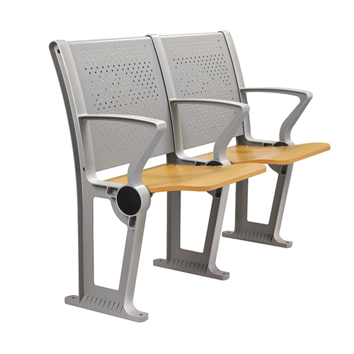 Folding Auditorium Seat With Storage Shelf Image 9