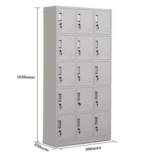 Xbones Fifteen Metal Cabinet Lockers Image 16
