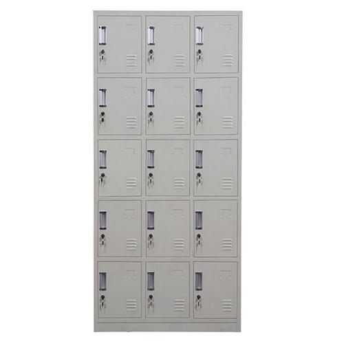 Xbones Fifteen Metal Cabinet Lockers Image 1