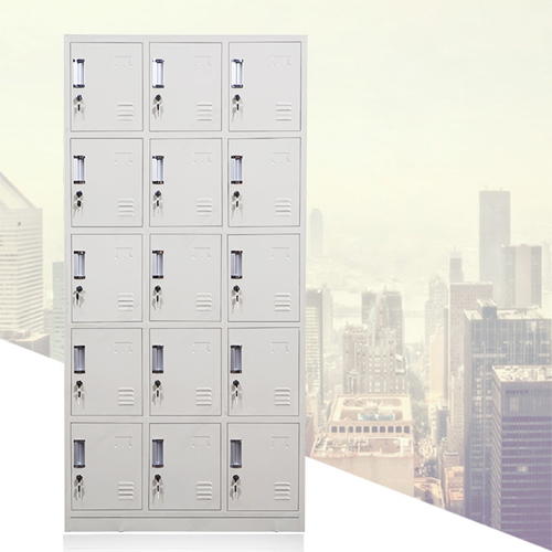Xbones Fifteen Metal Cabinet Lockers Image 3