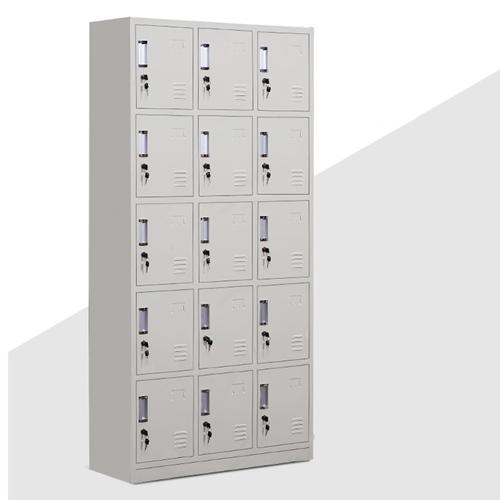 Xbones Fifteen Metal Cabinet Lockers Image 4