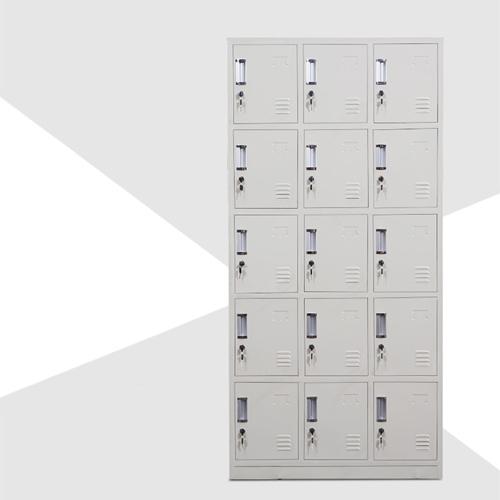 Xbones Fifteen Metal Cabinet Lockers Image 5