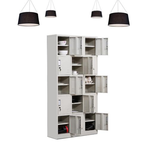 Xbones Fifteen Metal Cabinet Lockers Image 6