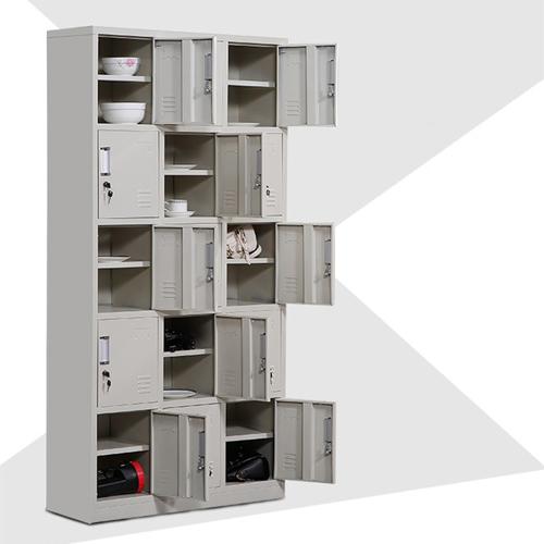 Xbones Fifteen Metal Cabinet Lockers Image 7