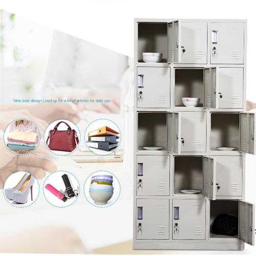 Xbones Fifteen Metal Cabinet Lockers Image 8