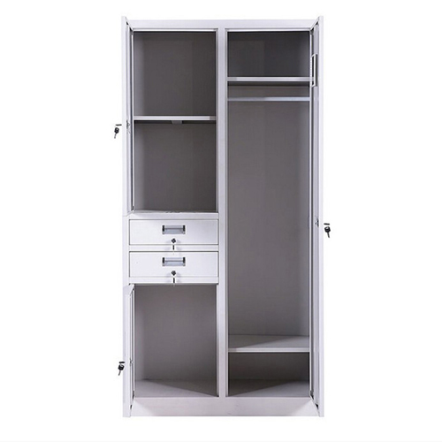 Cupboard Metal Wardrobe Cabinet