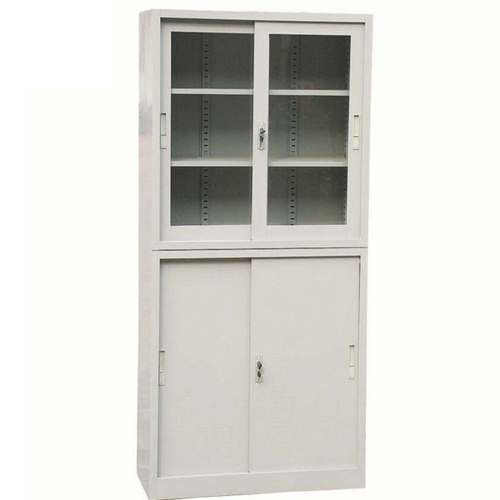 Daycore Metal Cabinet with Sliding Door Image 1