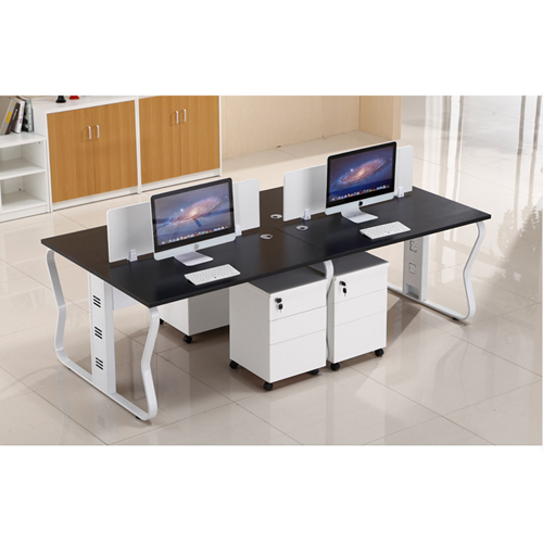 Ultrimax Cubicle Workstation With Metal Legs Image 2