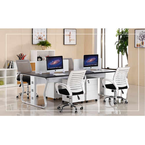 Ultrimax Cubicle Workstation With Metal Legs Image 4