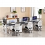 Ultrimax Cubicle Workstation With Metal Legs Image 5