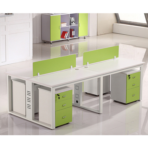 Spire Melamine Staff Desk Table Image 10