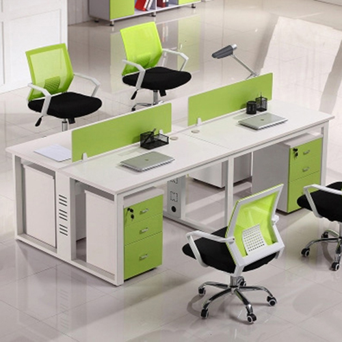 Spire Melamine Staff Desk Table