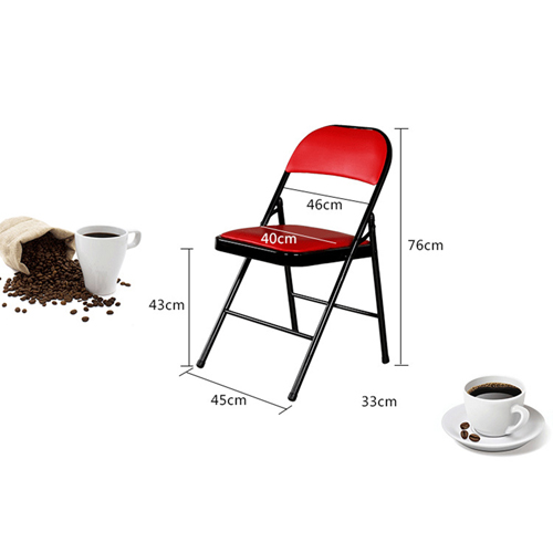 Alara Folding Chair with Padded Seat Image 11