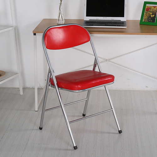Alara Folding Chair with Padded Seat Image 1