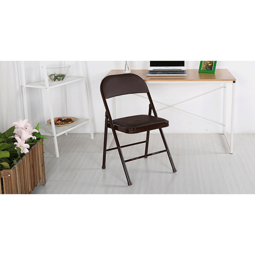 Alara Folding Chair with Padded Seat Image 5