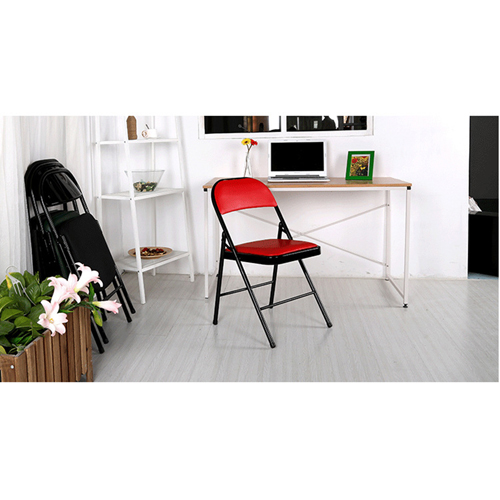 Alara Folding Chair with Padded Seat Image 6