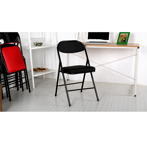Alara Folding Chair with Padded Seat Image 7