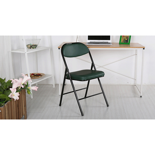Alara Folding Chair with Padded Seat Image 8