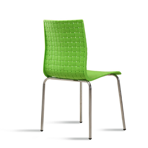Woven Design Plastic Chair Image 10