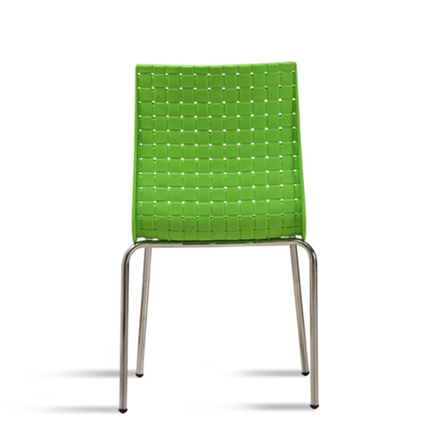 Woven Design Plastic Chair Image 11