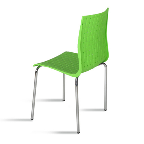 Woven Design Plastic Chair Image 12