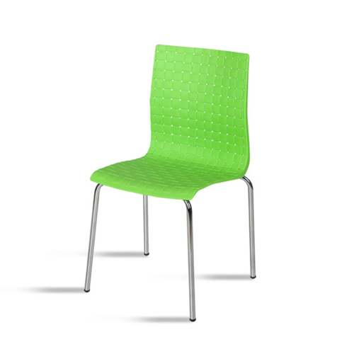 Woven Design Plastic Chair Image 14