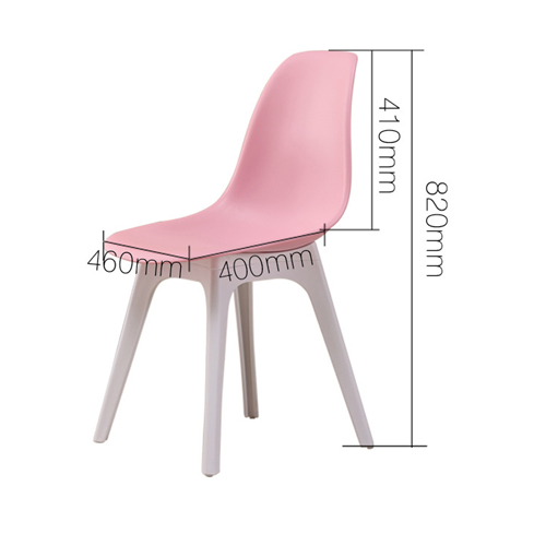 Molded Plastic Seat Shell Chair Image 14