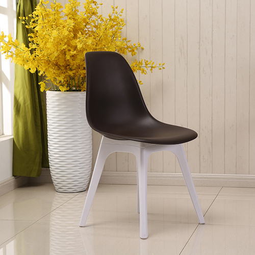 Molded Plastic Seat Shell Chair Image 2