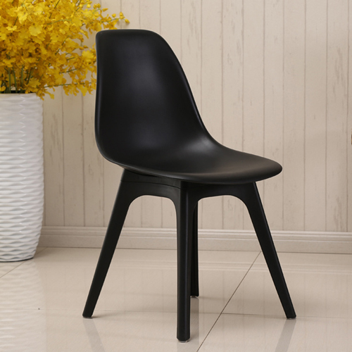 Molded Plastic Seat Shell Chair Image 4