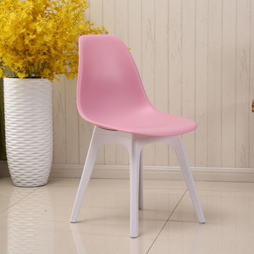 Molded Plastic Seat Shell Chair Image 5