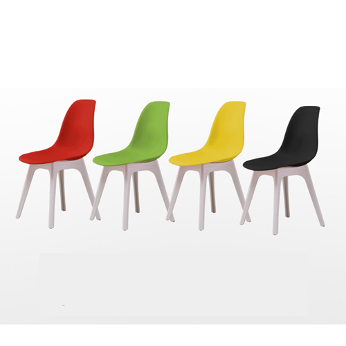 Molded Plastic Seat Shell Chair Image 8