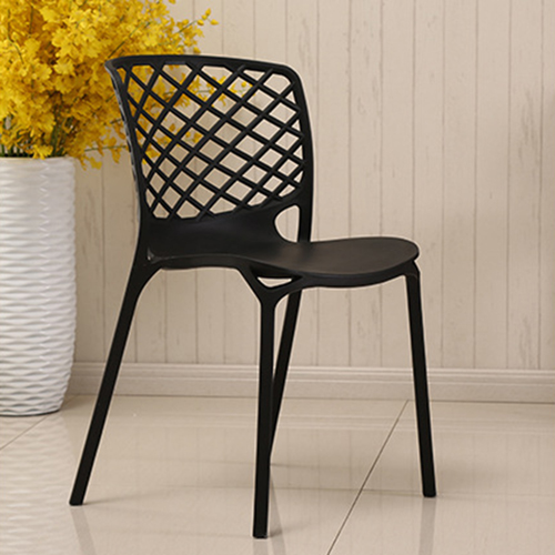 Pearlescent Perforated Back Chair Image 10