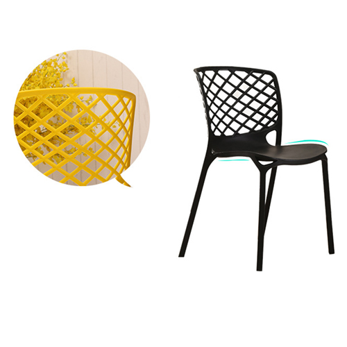 Pearlescent Perforated Back Chair Image 13