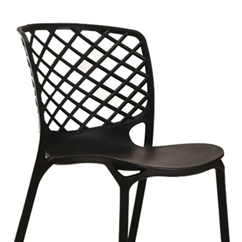 Pearlescent Perforated Back Chair Image 15