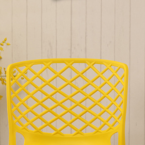 Pearlescent Perforated Back Chair Image 16