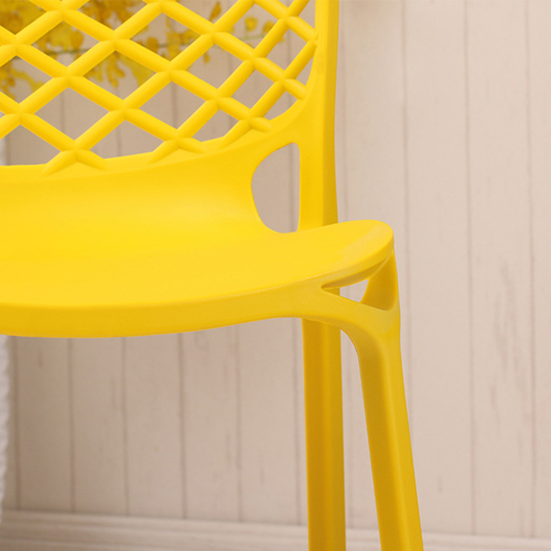 Pearlescent Perforated Back Chair Image 17