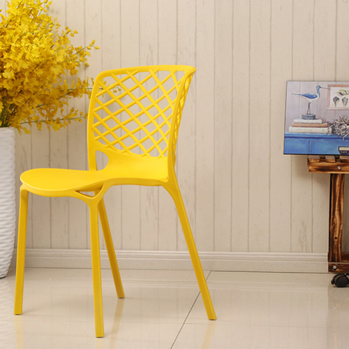 Pearlescent Perforated Back Chair Image 1