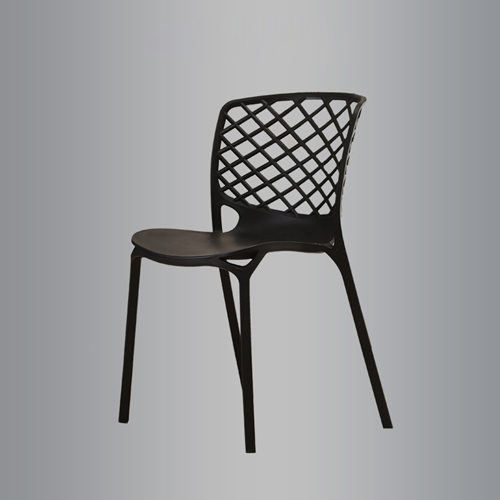 Pearlescent Perforated Back Chair Image 3