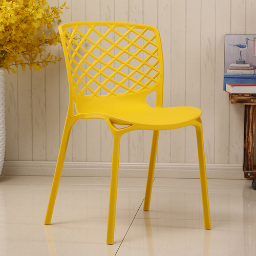 Pearlescent Perforated Back Chair Image 5