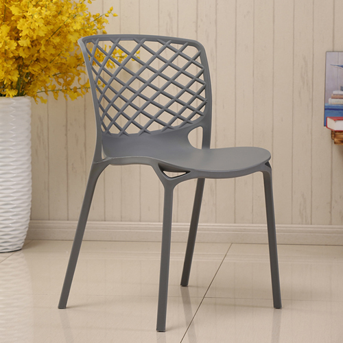 Pearlescent Perforated Back Chair Image 7
