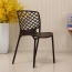Pearlescent Perforated Back Chair Image 9