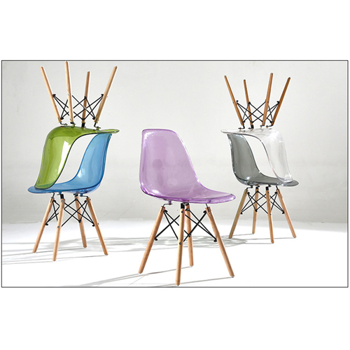Crystal Dowel Base Chair Image 10