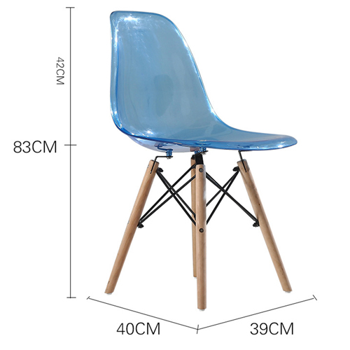 Crystal Dowel Base Chair Image 17